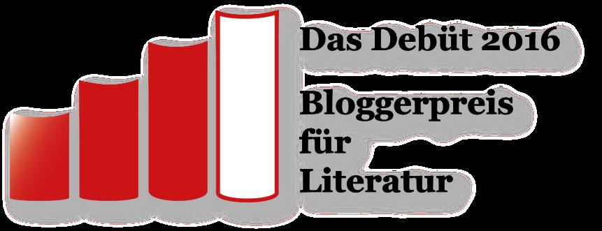 Das Debüt 2016 – Bloggerpreis fürLiteratur