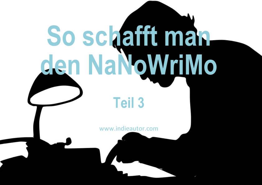 So schafft man den NaNoWriMo – Teil3